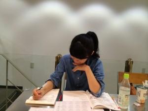 九星気学講座実樹さん写真8月30日