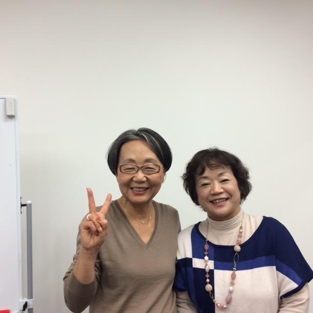 安部朋子さんと二人11月9日