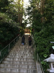 中津宮の階段