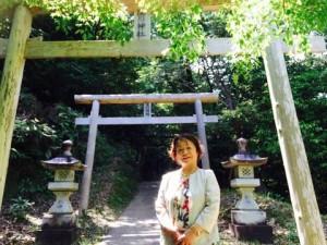 速川神社恵子5月13日