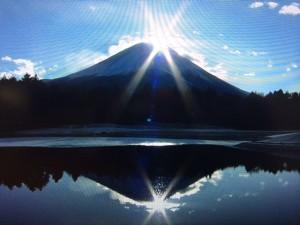 富士山日の出
