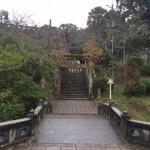 武雄神社入り口